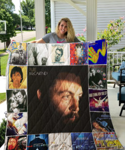 Paul McCartney Quilt Blanket 0975