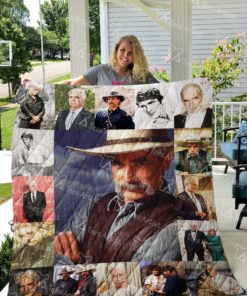 Sam Elliott Quilt Blanket 01028