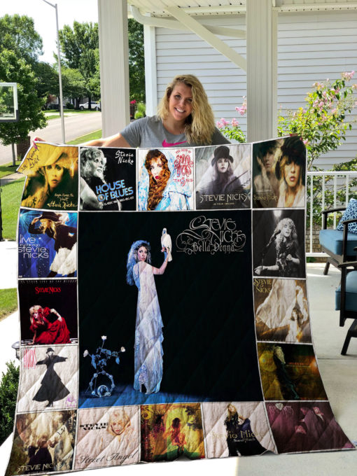 Stevie Nicks Quilt Blanket 01177