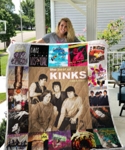 The Kinks Quilt Blanket 0997