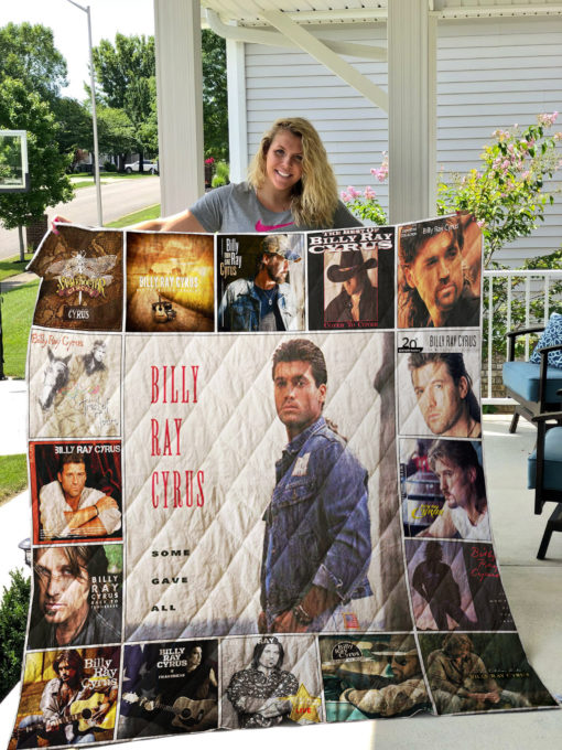 Billy Ray Cyrus Quilt Blanket 01280