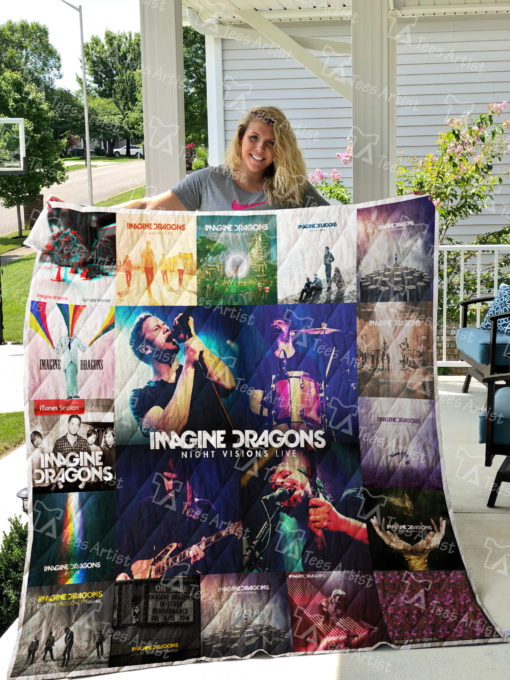 Imagine Dragons Quilt Blanket 01565