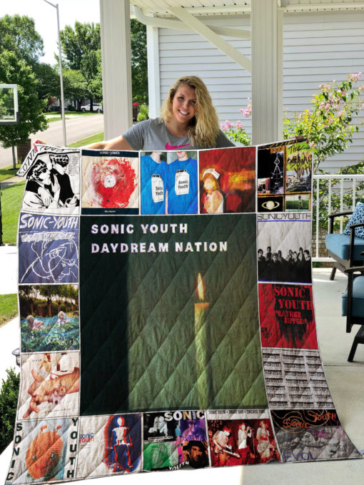 Sonic Youth Quilt Blanket 01523