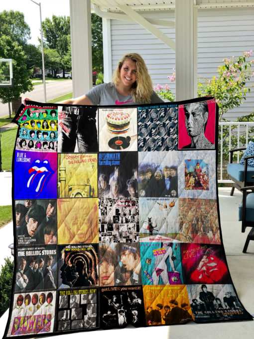 The Rolling Stones Quilt Blanket 01481