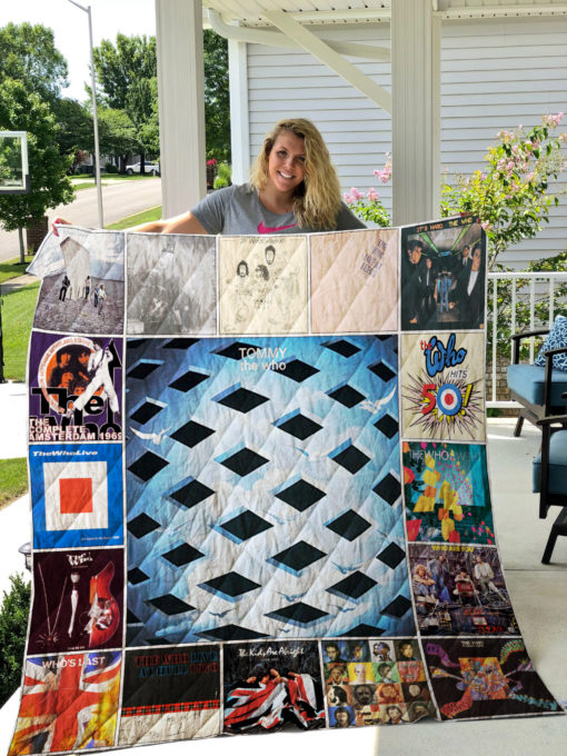 The Who Quilt Blanket 01459