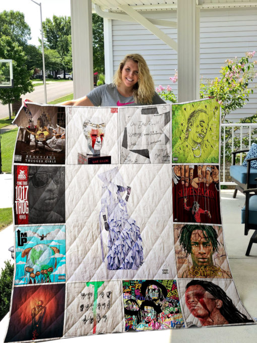 Young Thug Quilt Blanket 01559