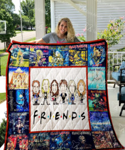 Iron Maiden Quilt Blanket 01655