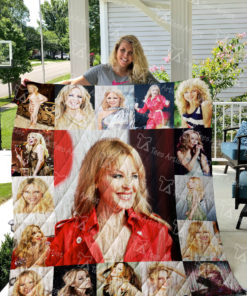 Kylie Minogue Quilt Blanket 01605
