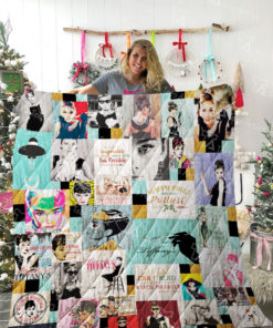 Breakfast at Tiffany's Quilt Blanket 02055
