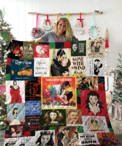 Gone With The Wind Quilt Blanket 02031