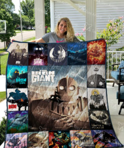 Iron Giant Quilt Blanket 01863
