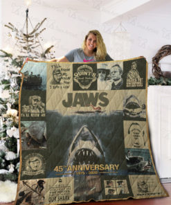 Jaws Quilt Blanket 01997
