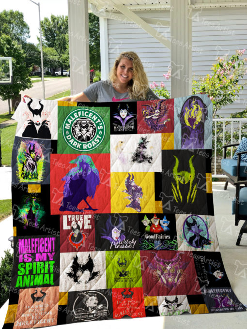 Maleficent Quilt Blanket 02000