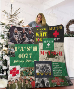 M*A*S*H Quilt Blanket 02047