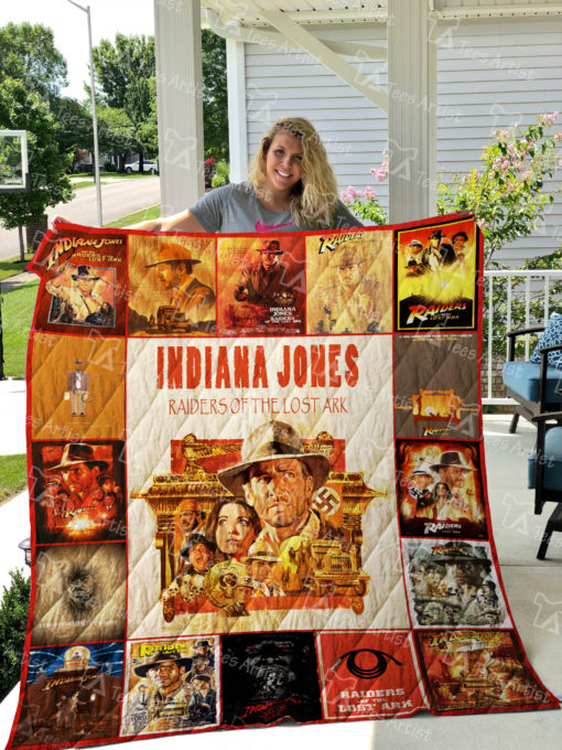 Raiders of the Lost Ark Quilt Blanket 01861