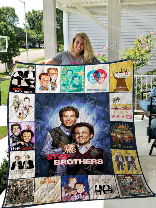 Step Brothers Quilt Blanket 01835