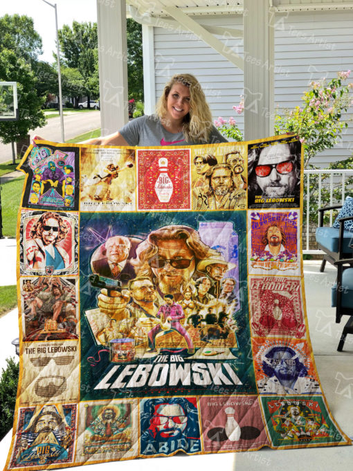 The Big Lebowski Quilt Blanket 01862