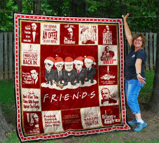 The Godfather Friends Quilt Blanket 01979