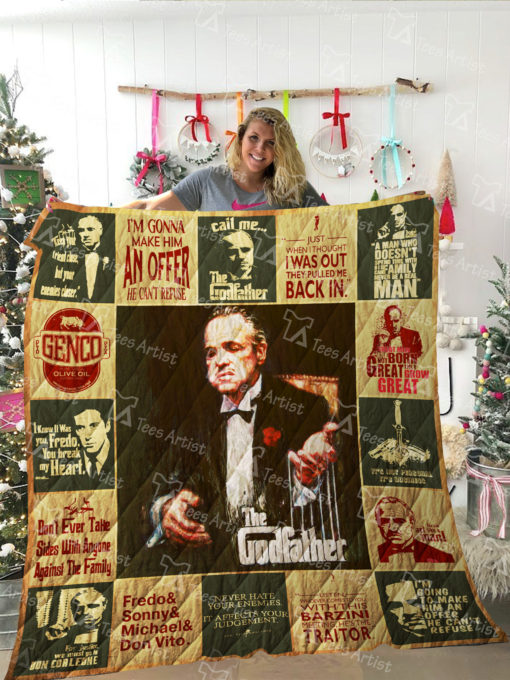 The Godfather Quilt Blanket 02048