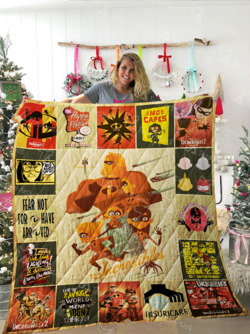 The Incredibles Quilt Blanket 02037