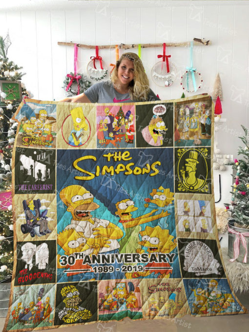 The Simpson Quilt Blanket 02042