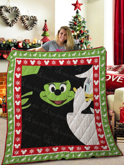 WICKED The Musical vs Mickey Mouse Quilt Blanket 01995