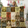 Christmas Movies Quilt Blanket 02083