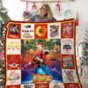 Pirates Of The Caribbean Quilt Blanket 02177