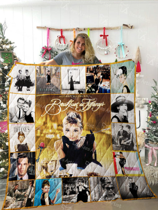 Breakfast at Tiffany's Quilt Blanket 02195