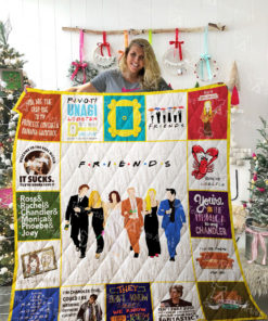 Friends TV show Quilt Blanket 02117