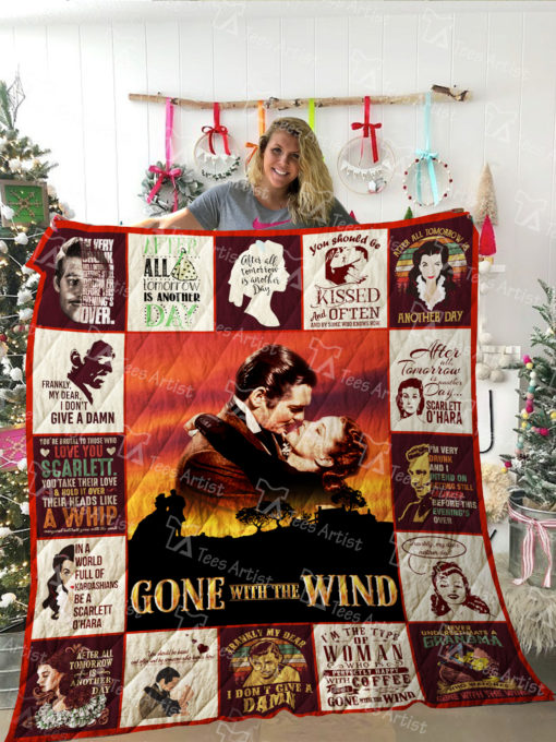 Gone with the wind Quilt Blanket 02108