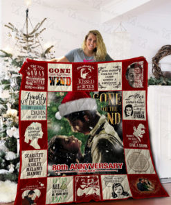 Gone With The Wind Quilt Blanket 02169