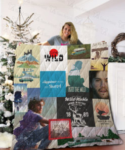 Into The Wild Quilt Blanket 02073