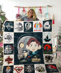Iron Giant Quilt Blanket 02109