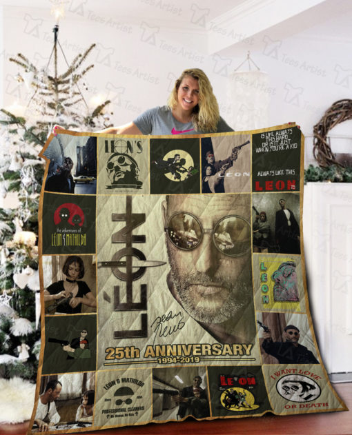 Leon The Professional Quilt Blanket 02039