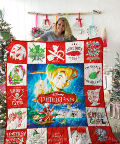 Peter Pan Quilt Blanket 02218