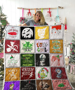 Peter Pan Quilt Blanket 02219