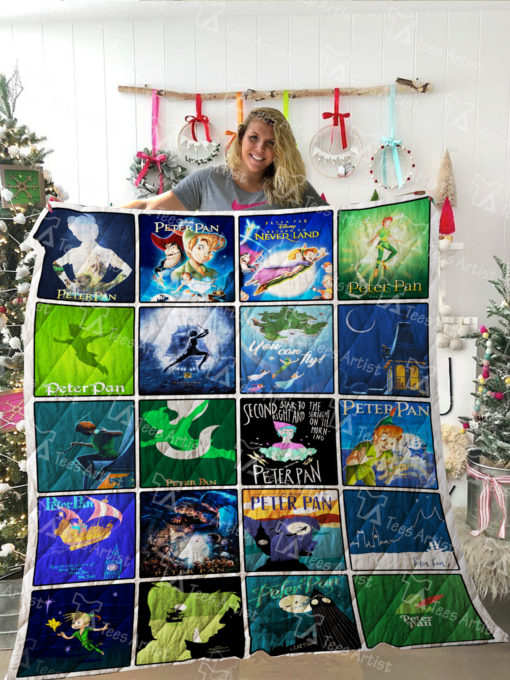Peter Pan Quilt Blanket 02220