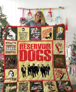 Reservoir Dogs Quilt Blanket 02143