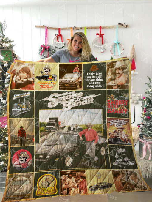 Smokey And Bandit Quilt Blanket 02090