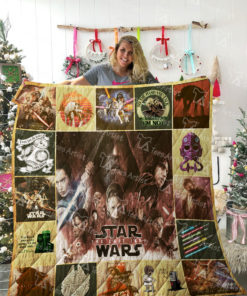 Star War Quilt Blanket 02159