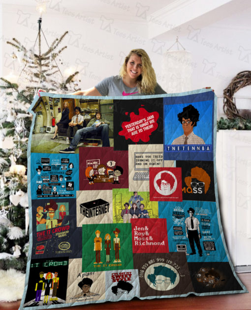 The IT Crowd Quilt Blanket 02089