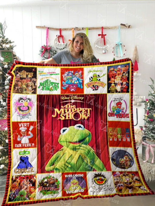 The Muppet Show Quilt Blanket 02202