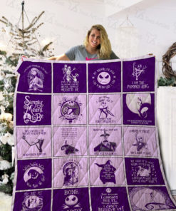 The Nightmare Before Christmas Quilt Blanket 02150