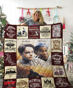 The Shawshank Redemption Quilt Blanket 02098