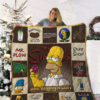 The Simpsons Quilt Blanket 02200