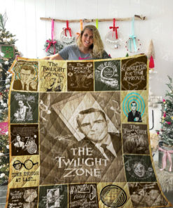 The Twilight Zone Quilt Blanket 02146