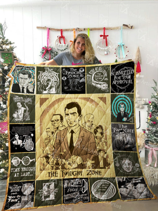 The Twilight Zone Quilt Blanket 02147