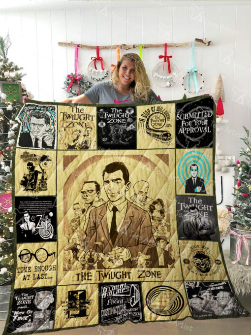 The Twilight Zone Quilt Blanket 02148
