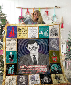 The Twilight Zone Quilt Blanket 02154